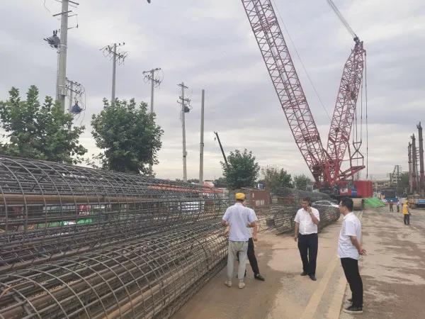 """""""禹龙""""商品钢筋助力西安火车站改造重点工程项目"""