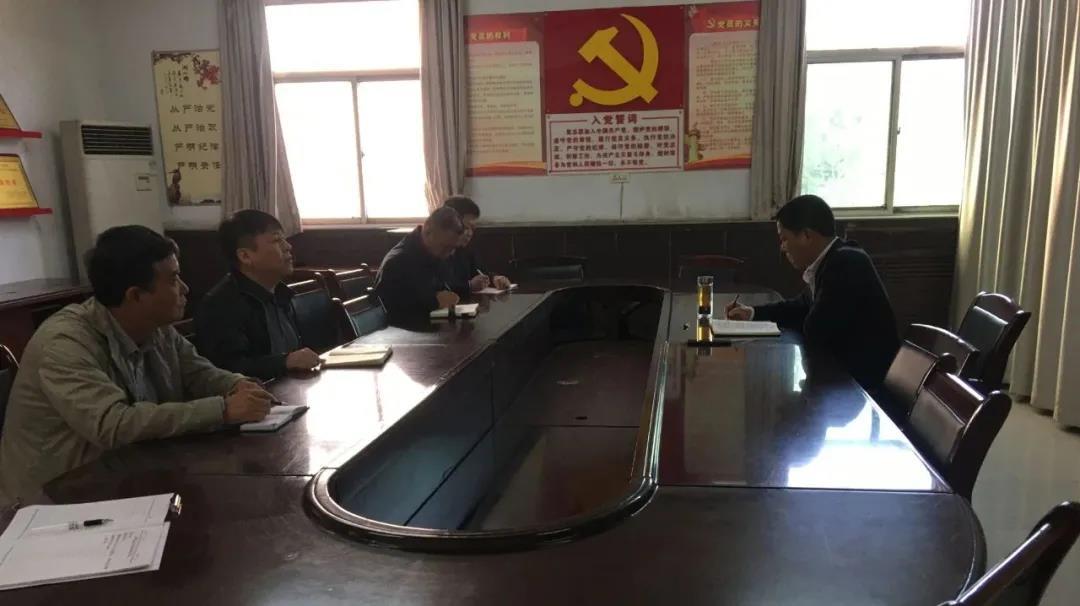 杨召朋到禹宏置业公司检查指导工作