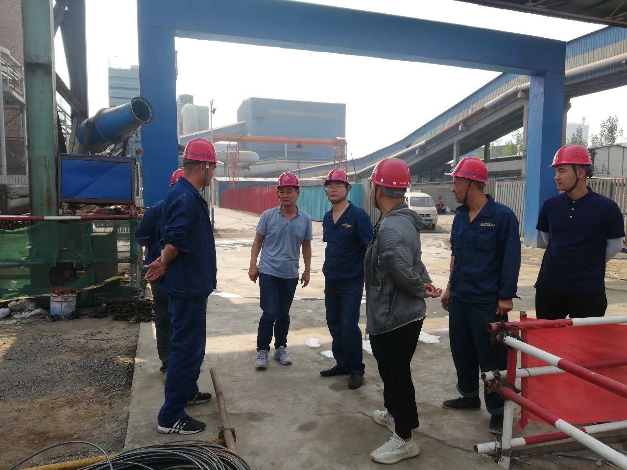 禹宏环保科技公司加强推进重点项目建设